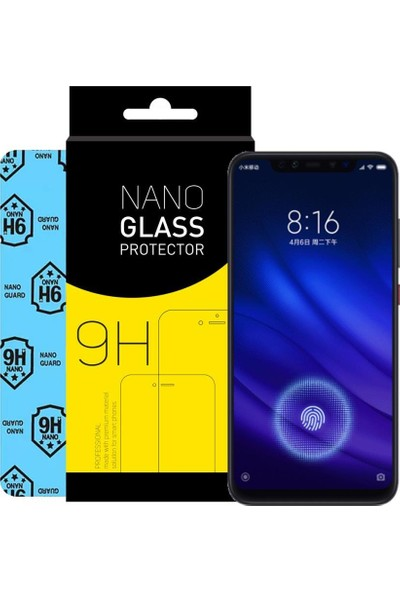 Atalay Xiaomi Mi 8 Pro Blue Nano Ekran Koruyucu