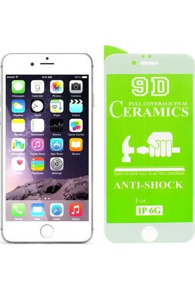 Atalay 9d Mat Seramik Nano Ekran Koruyucu Beyaz-Apple iPhone 6