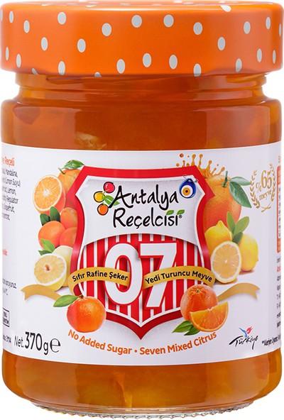 Antalya Reçelcisi 0 Şeker 7 Meyve Reçeli (Turuncu) 290 gr