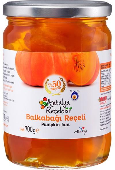 Antalya Reçelcisi Balkabağı Reçeli %50 Meyve Klasik Seri 700 Gr