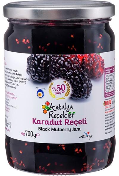 Antalya Reçelcisi Karadut Reçeli %50 Meyve Klasik Seri 700 Gr