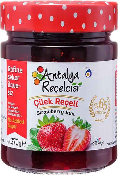 Antalya Reçelcisi Şeker İlavesiz Çilek Reçeli 370 Gr