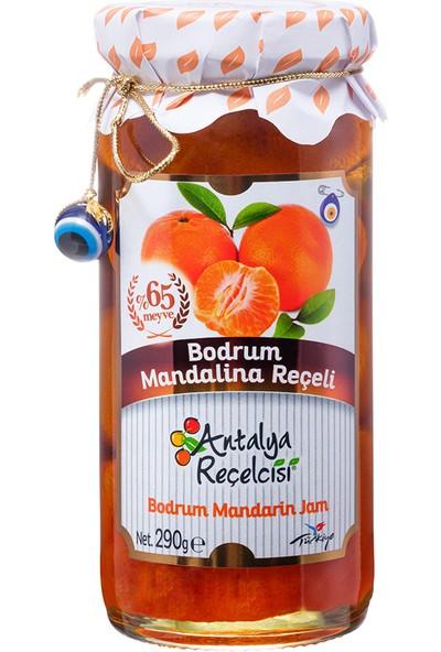 Antalya Reçelcisi Bodrum Mandalina Reçeli %65 Meyve Gurme Serisi 290 Gr