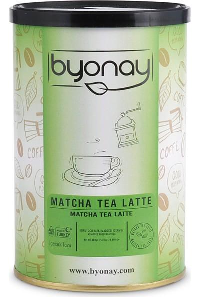 Byonay Matcha Tea Latte Içecek Tozu 400 gr Teneke