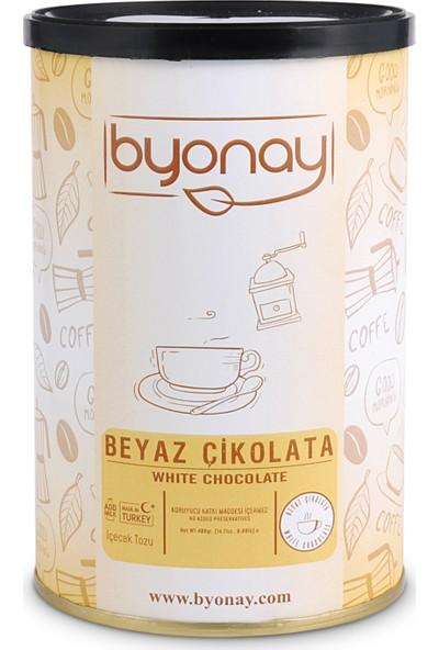 Byonay Beyaz Çikolata Içecek Tozu 400 gr Teneke