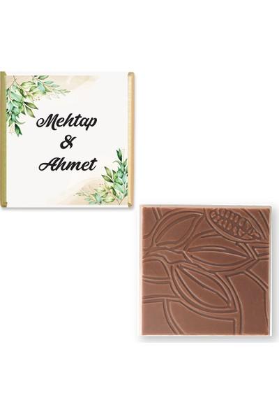 Valonia Dila Çikolata Söz Nişan Çikolatası (100 Madlen)