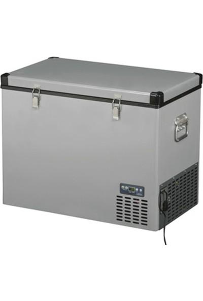 Indel B TB130 Çelik Oto Buzdolabı Travel Box 124 lt