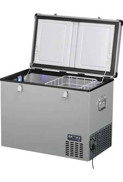 Indel B TB100 Çelik Oto Buzdolabı Travel Box 97 lt