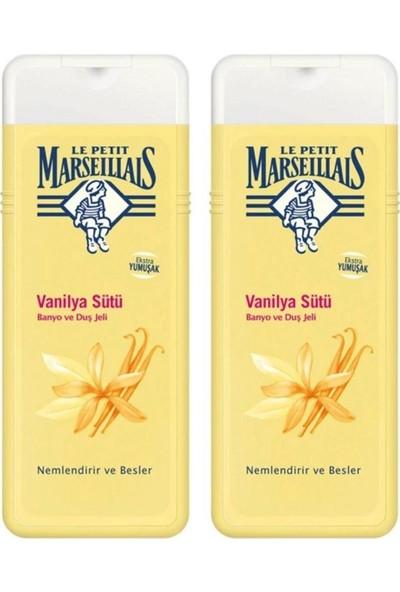 Le Petit Marseillais Duş Jeli 400 ml x 2 Vanilya Sütü
