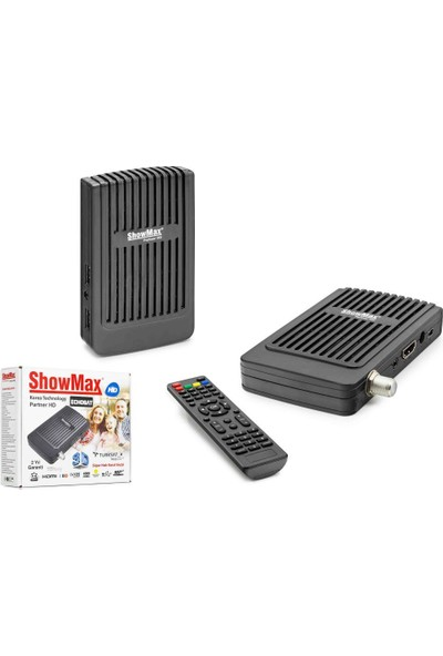 Showmax Partner Full Hd Uydu Alıcısı