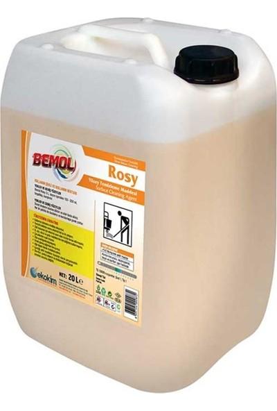 Bemol Rosy Extra Yüksek Parfümlü Yüzey Temizleme Maddesi 30 kg