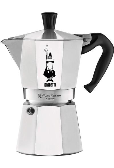 Bialetti Express Metal 6 Cups Moka Pot