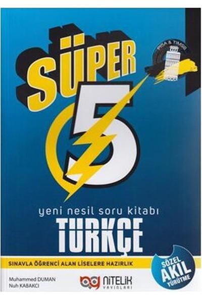 Nitelik Yayınları 5. Sınıf Süper Türkçe Soru Bankası