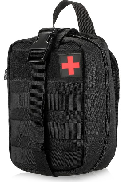 Buyfun Açık İlk Yardım Kiti Tıp Molle Kılıfı Survival Yardımcı
