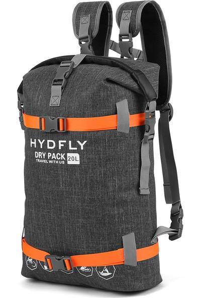 Hydfly 20L Açık Su Geçirmez Kuru Çanta Nehir Trekking Yüzen Rulo-Top