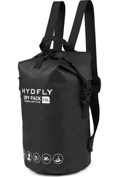 Hydfly 15L Açık Su Geçirmez Kuru Çanta Nehir Trekking Yüzen Rulo-Top