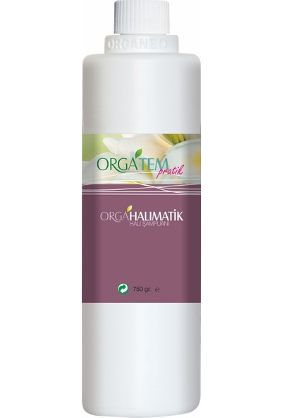 Orgatem Halımatik Halı Şampuanı (Makinede Kullanım) 750 gr