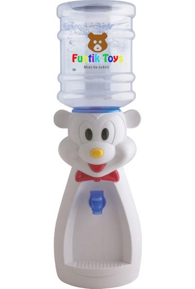 Funtik Ayı Tasarımlı Çocuk Su Sebili - Beyaz