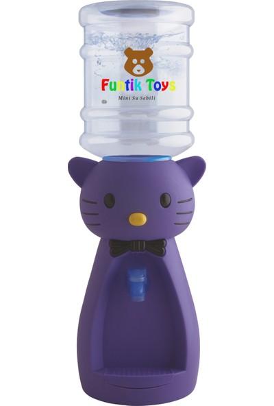 Funtik Kedi Çocuk Su Sebili + Bardak