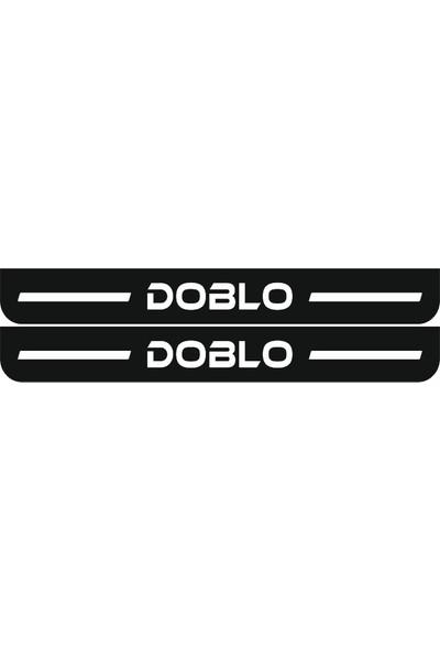 Berişbek Kardeşler Fiat Doblo 2010+ Pleksi Kapı Eşiği Takımı