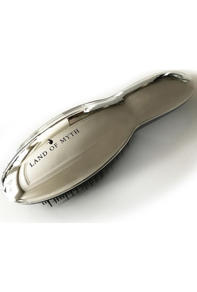 Land Of Myth - LOM1202 Detangling Hair Brush, Saç Açma Tarağı (Silver)