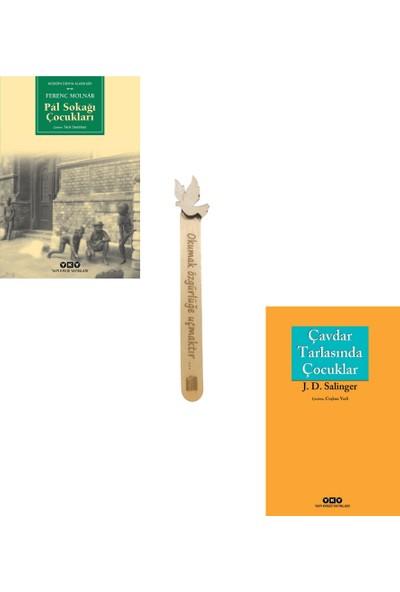 Pal Sokağı Çocukları - Çavdar Tarlasındaki Çocuklar (2 Kitap Set) + Cizo Kitap Ayracı