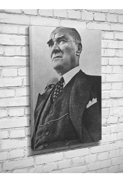 Ekon Gema Atatürk 93 Kanvas Tablo