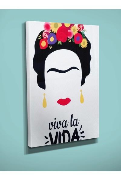 Ekon Gema Frida Kahlo 2 Baskılı Kanvas Tablo