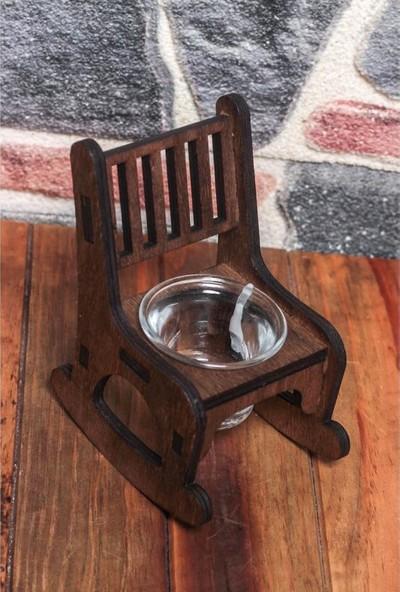 Halk Kitabevi Lora Sallanan Sandalye T-Lıght Cam Mumluk