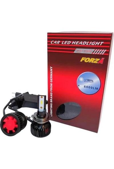 Forza H7 Csp LED Xenon Set Kısa Gövde 12 V