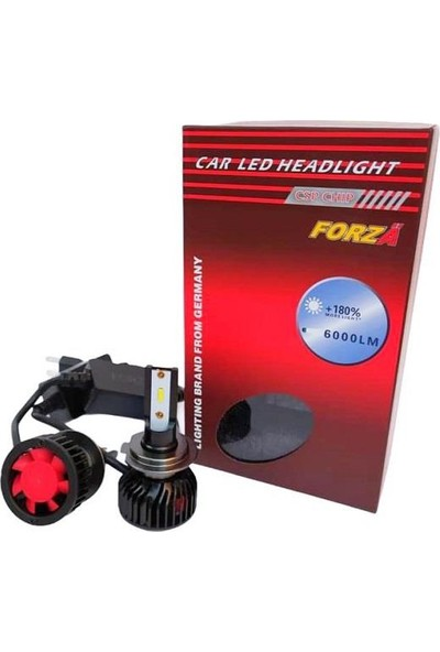 Forza H4 Csp LED Xenon Set Kısa Gövde 12 V