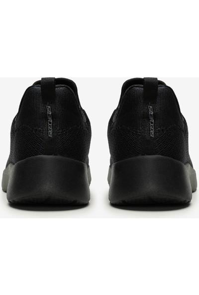 Skechers Dynamight 12119 Bbk Kadın Siyah Spor Ayakkabı