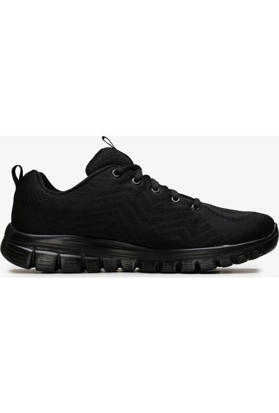 Skechers Graceful-Get Connected Kadın Siyah Spor Ayakkabı 12615 Bbk