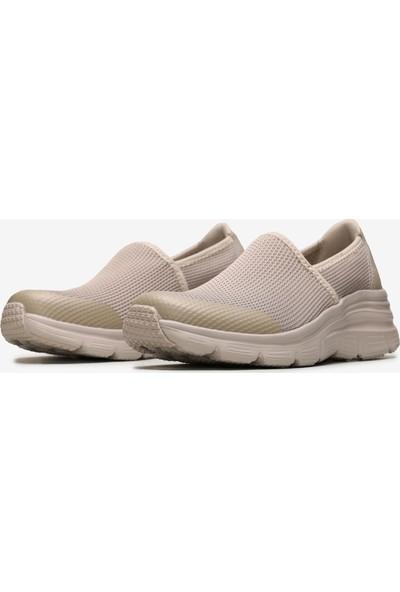Skechers Fashion Fit-Brilliant Day Kadın Bej Spor Ayakkabı 13312 Tpe