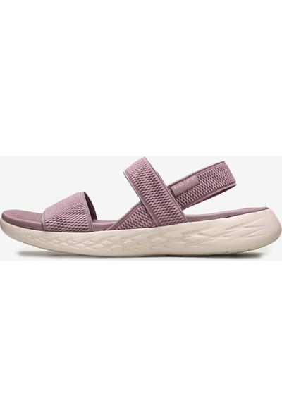 Skechers On-The-Go 600 - Flawless 15312 Ltmv Kadın Açık Leylak Sandalet