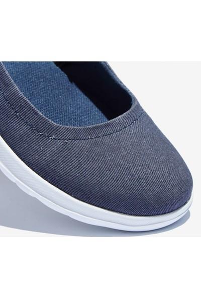 Skechers Go Walk Lite - in Bloom Kadın Mavi Yürüyüş Ayakkabısı 15393 Den