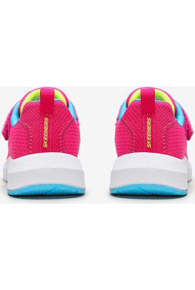Skechers Dynamic Tread-Hop N'Hike Büyük Kız Çocuk Pembe Spor Ayakkabı 81365L Npmt