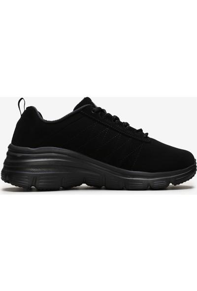 Skechers Fashion Fit-True Feels Kadın Siyah Spor Ayakkabı 88888366 Bbk