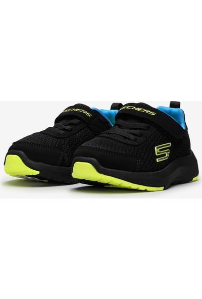 Skechers Dynamic Tread 98151N Bblm Küçük Erkek Çocuk Siyah Spor Ayakkabı