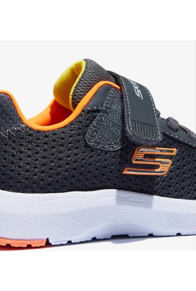 Skechers Dynamic Tread 98151N Ccor Küçük Erkek Çocuk Gri Spor Ayakkabı