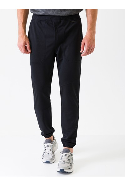 Skechers Comfort Bottoms M All Day Jogger Pant S201264-001 Erkek Siyah Pantolon