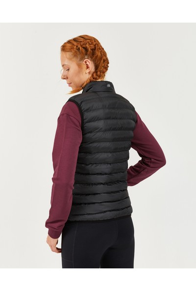 Skechers Outerwear W Basic Lightweight Vest Kadın Siyah Yelek S202109-001