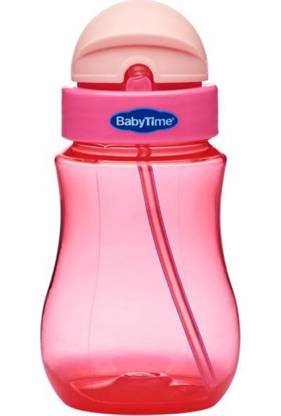 Babytime BT500 Renkli Pipetli Bardak - Pembe