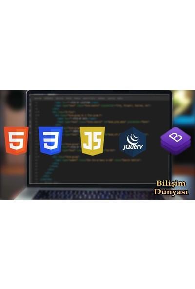 Udemy Web Tasarım Kursu Html5-Css3-Javascrıpt-Jquery-Bootstrap 4