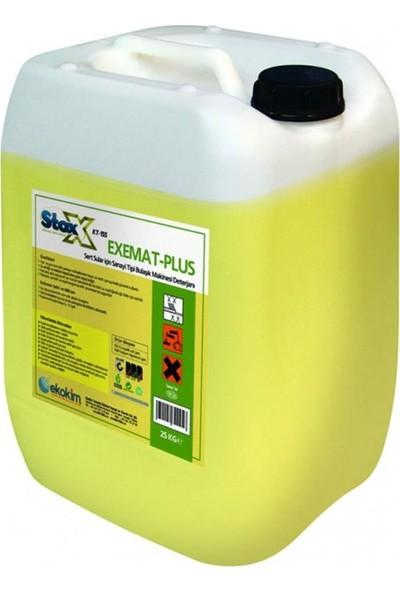 Stox Exemat Plus Sert Sularda Kullanılan Sıvı Deterjan 25 kg
