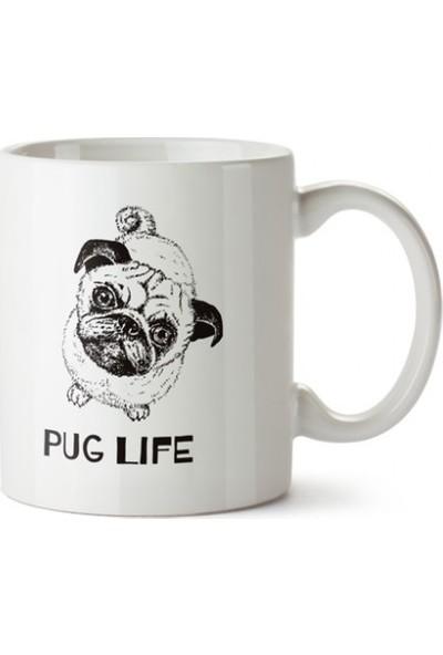 Dali's Pug Life Tasarım Kupa