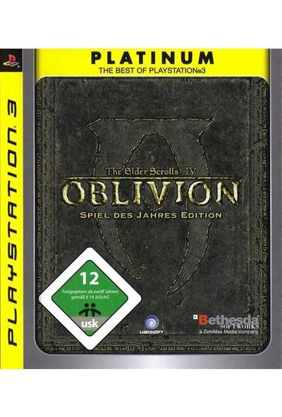 The Elder Scrolls IV: Oblivion - Spiel Des Jahres Edition PS3 Oyun