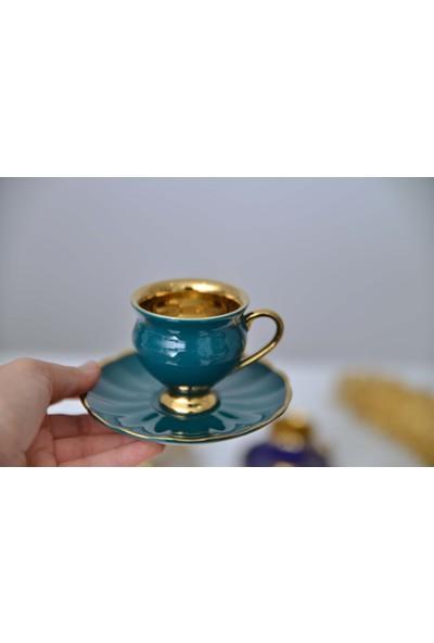 Acar Morpheus Porselen Türk Kahvesi Fincanı Takımı