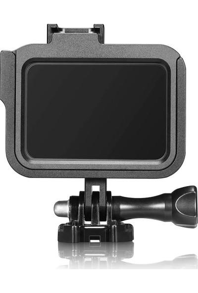 Kingma Gopro Hero 8 Uyumlu Metal Çerçeve Frame Siyah