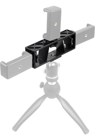 Kingma 3 Pozisyonlu 1/4 Bağlantı Yuvalı Kamera Veya Telefon Tutucu